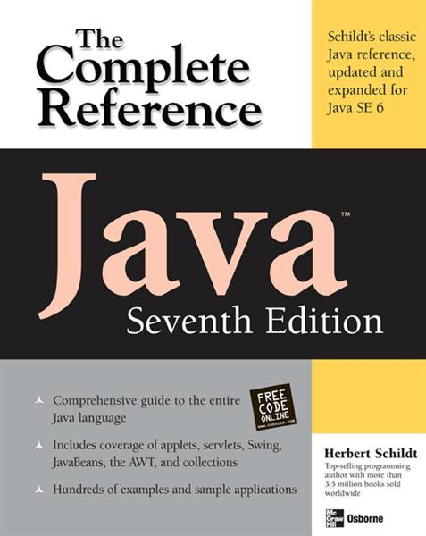 Java The Complete Reference 7th Edition