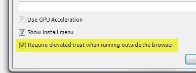 elevated trust