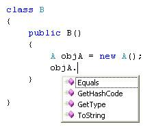 Image 1 - Accessing Private Variable through class Object