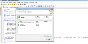 Generate Script with data in SQL Server 2008 steps11
