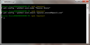 Git-Config Global