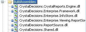 BuildAssemblies folder sctructure