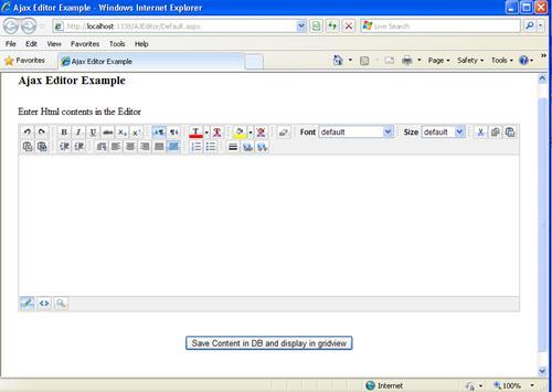 AJax_Editor_Design_Page