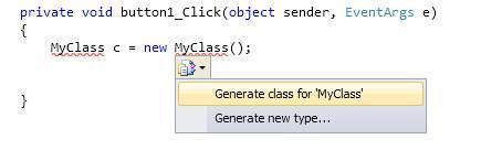 generate type