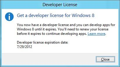 Developer License