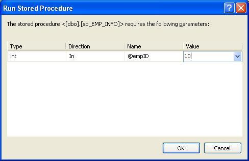 Run_stored_procedure