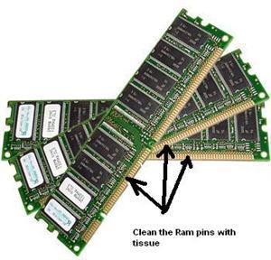 Clean Ram Pins