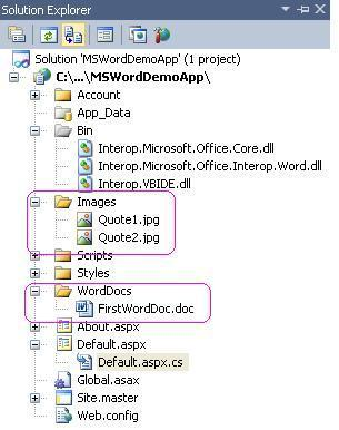 Web Application Directory Structure