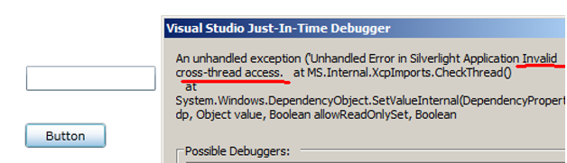 WPF multithreaded error