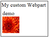 customwebpart