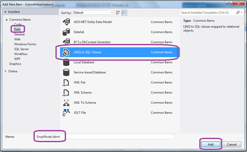 how to delete with linq