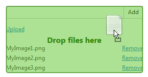 Upload drag-n-drop