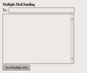 How to Send Multiple Email in asp.net by using C# coding