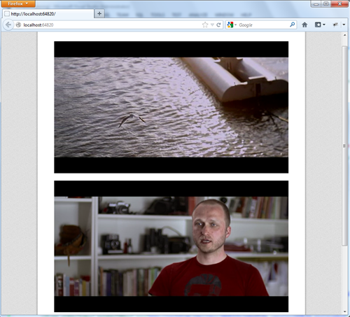 TAB video Player