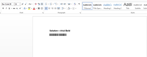 Font issue when convert word to PDF format